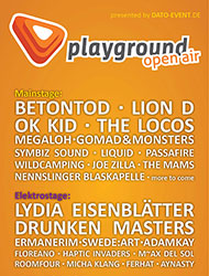 Flyer Playground-Open-Air